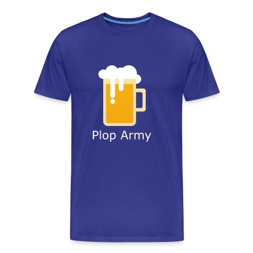 Beerplop Bierkrug Plop Army - Männer Premium T-Shirt