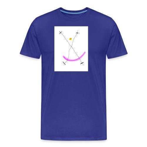 64FB8425 2DD5 4821 BDA2 8F0B9E31CF77 - Herre premium T-shirt