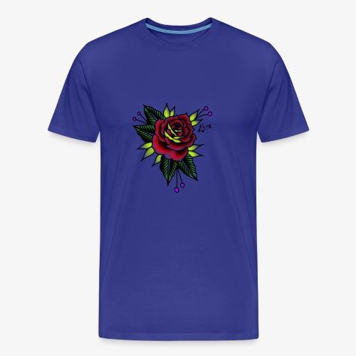 Traditional rose - Men's Premium T-Shirt