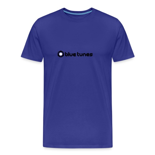 vektor blue tunes logo new - Men's Premium T-Shirt