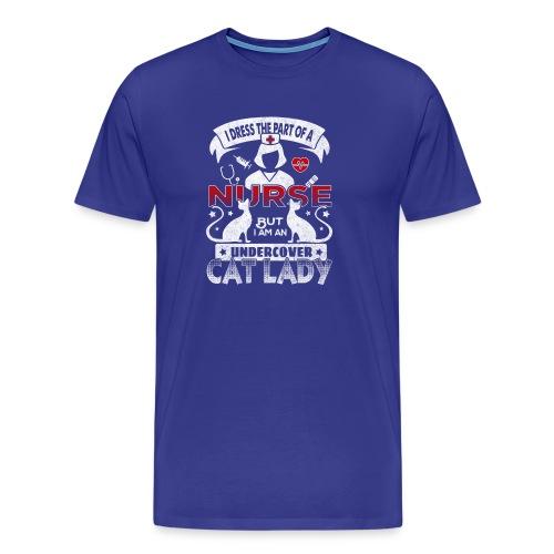 Nurse - Cat Lady - Maglietta Premium da uomo