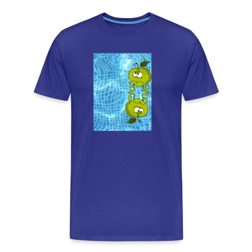 angry appel - Mannen Premium T-shirt