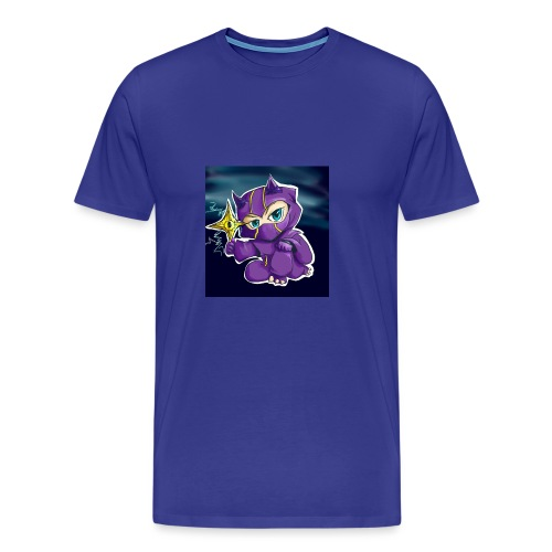 purpel ninja - Herre premium T-shirt