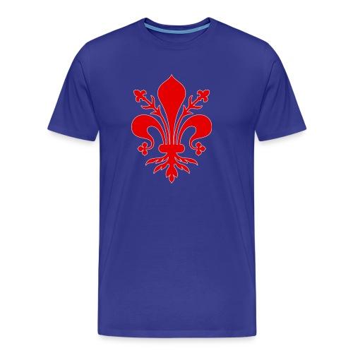 giglio rosso - Maglietta Premium da uomo