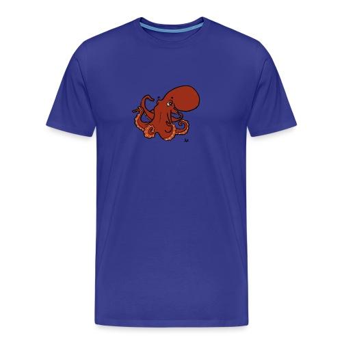 Pieuvre géante du Pacifique - T-shirt Premium Homme