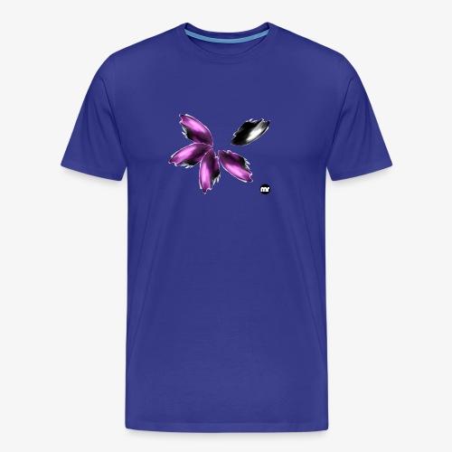 Sembran petali ma è l'aurora boreale - Maglietta Premium da uomo