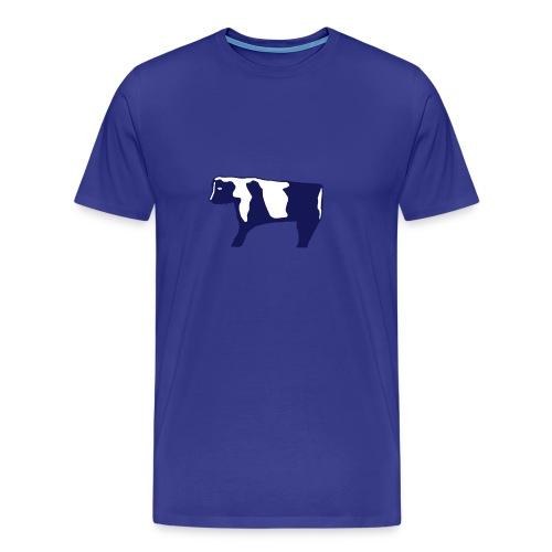 standing cow - Men's Premium T-Shirt