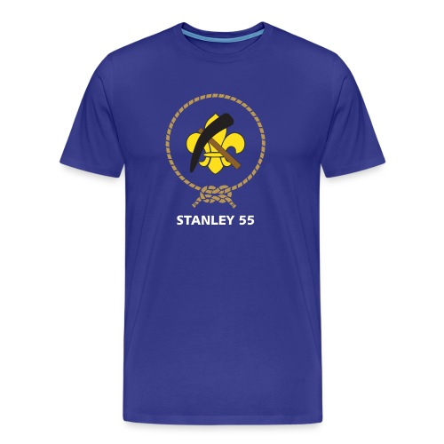 Stanley 55 logo - Mannen Premium T-shirt
