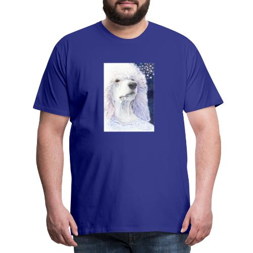 Poodle DreamDog - Herre premium T-shirt