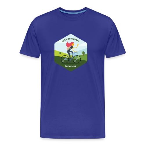 Let's go explore - Männer Premium T-Shirt