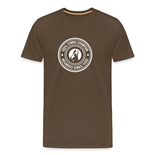 stamp 100 tennis champion man - T-shirt Premium Homme