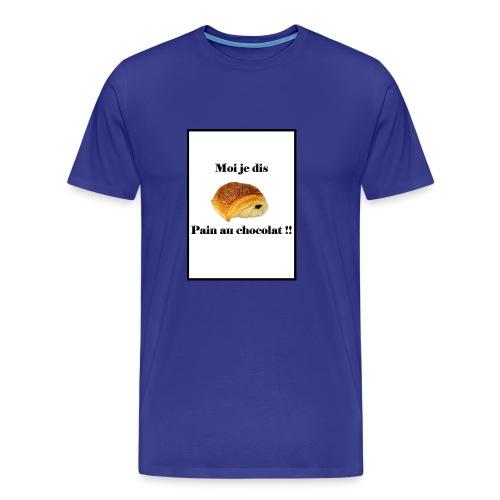 moi je dis pain au chocolat - T-shirt Premium Homme