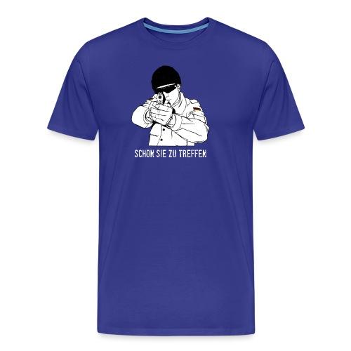 schön sie zu treffen w - Männer Premium T-Shirt