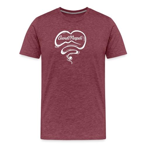 CuordiNapoli New Logo - Maglietta Premium da uomo