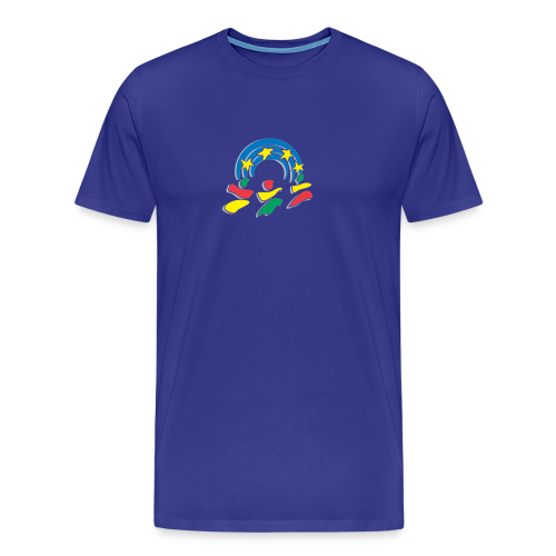 yen logo - Men's Premium T-Shirt