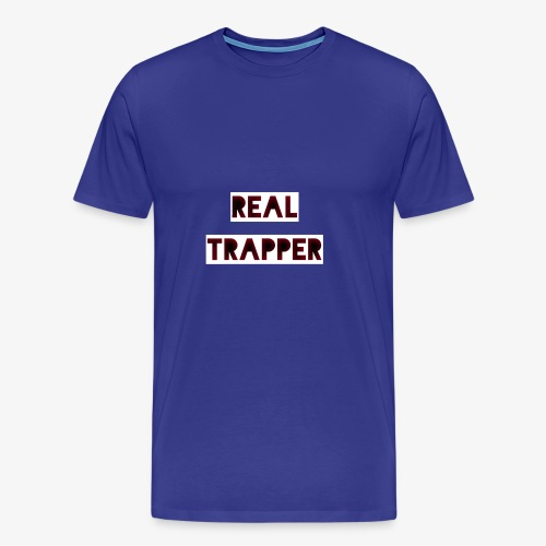 REAL TRAPPER - Men's Premium T-Shirt