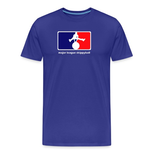 Major League Skippyball - Mannen Premium T-shirt
