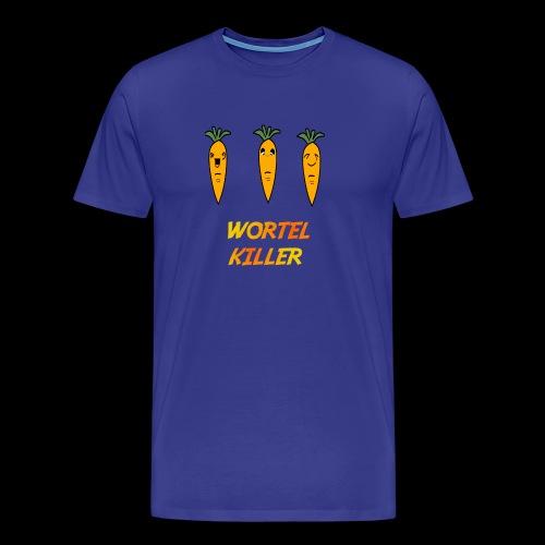 Wortel Killer [Teenager Premium T-Shirt] - Mannen Premium T-shirt