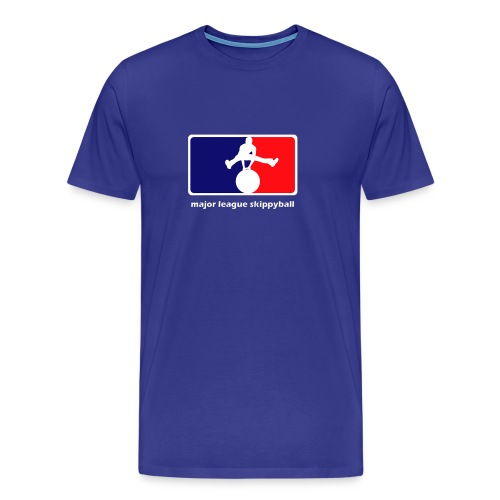 Major League Skippyball - Mannen Premium T-shirt