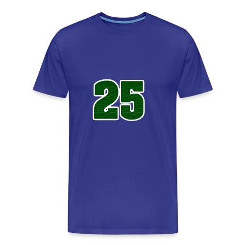 25 Logo - Premium-T-shirt herr