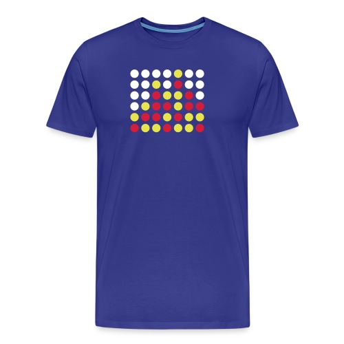 Vier gewinnt! - Männer Premium T-Shirt