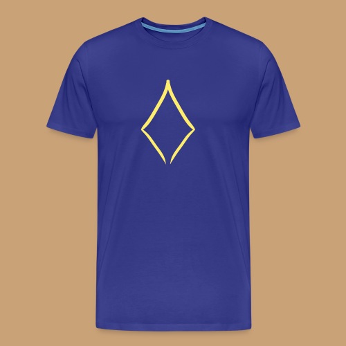Yellow Diamond - T-shirt Premium Homme