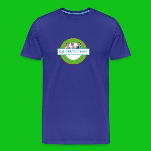 Kungsbackaboys Vattenflaska - Premium-T-shirt herr