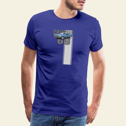 69 chevelle stripe - Herre premium T-shirt
