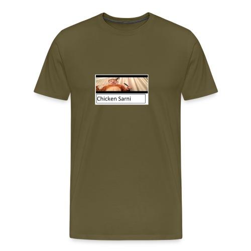 chicken sarni - Men's Premium T-Shirt