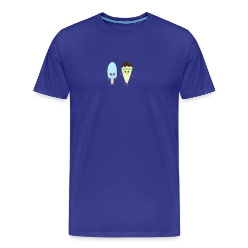 Ice cream party blue - T-shirt Premium Homme