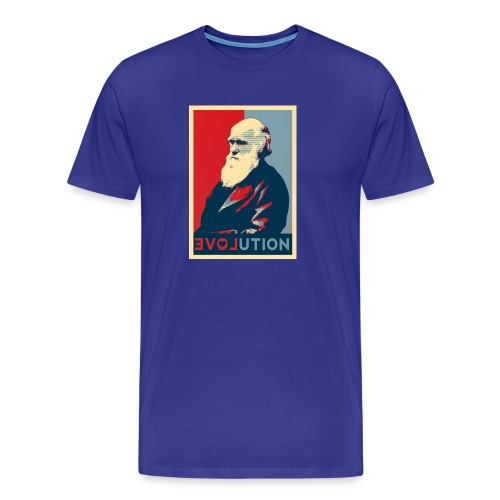 Charles Darwin - Maglietta Premium da uomo