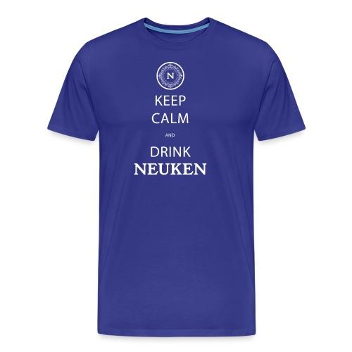 keep calm drink neuken - Mannen Premium T-shirt