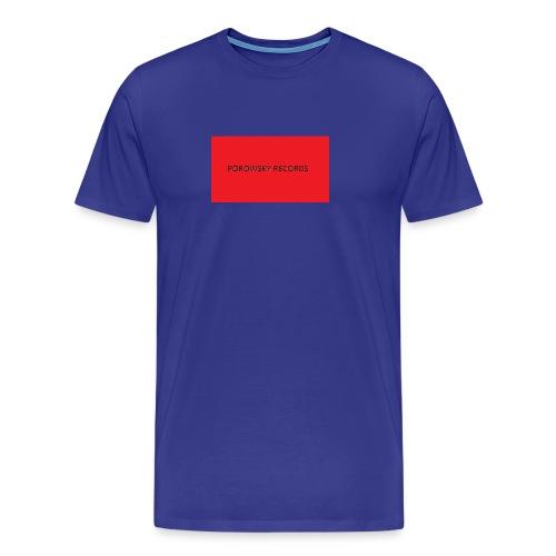 porowsky records kassettenbandt 2016 shirt - Premium-T-shirt herr