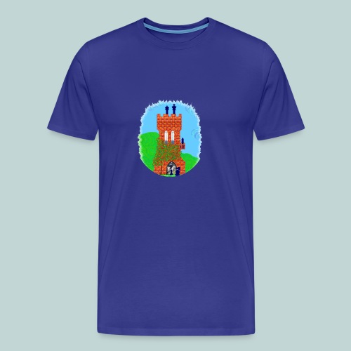 Schachturm romantisch - Männer Premium T-Shirt