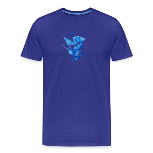 Blue circle - Maglietta Premium da uomo