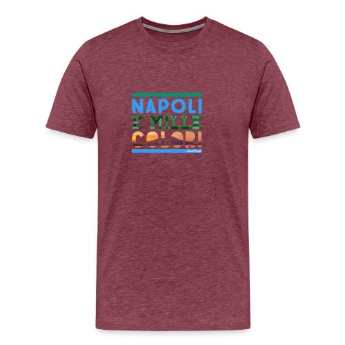 Napoli è mille colori - Maglietta Premium da uomo
