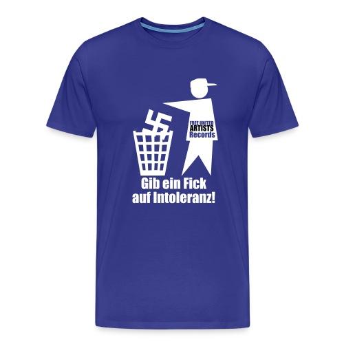 fick intoleranz - Männer Premium T-Shirt
