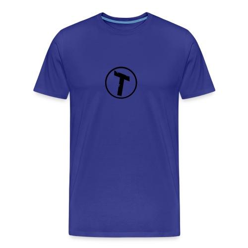 Rød Cap Med logo - Herre premium T-shirt