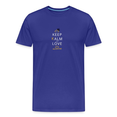 Keep kalm and love YellowCloud ! - T-shirt Premium Homme