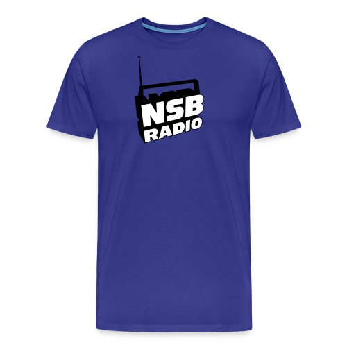 NSB Classic on Sky Blue T - Men's Premium T-Shirt