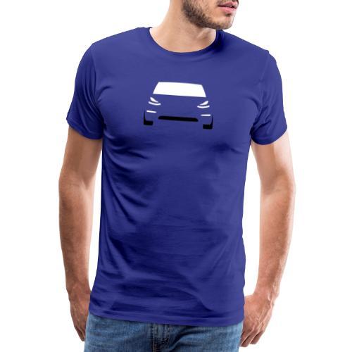 Tesla Model 3 - Männer Premium T-Shirt