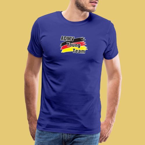 logo admv young weisser rand - Männer Premium T-Shirt
