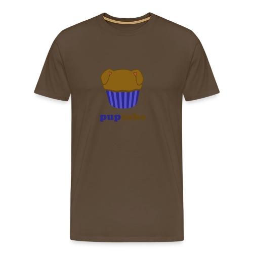 pupcake blauw - Mannen Premium T-shirt