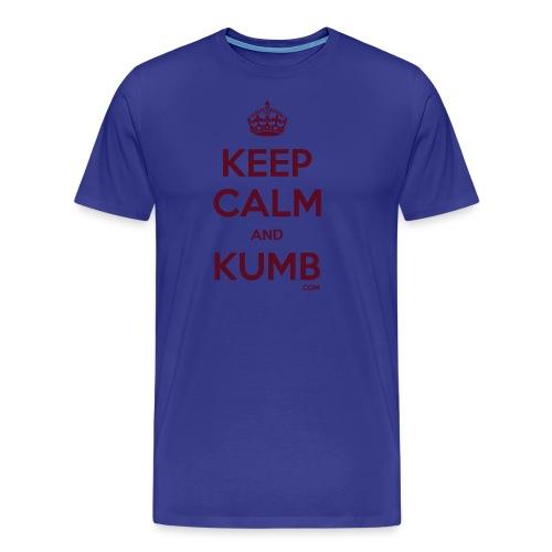 Keep Calm and Kumb - Men's Premium T-Shirt