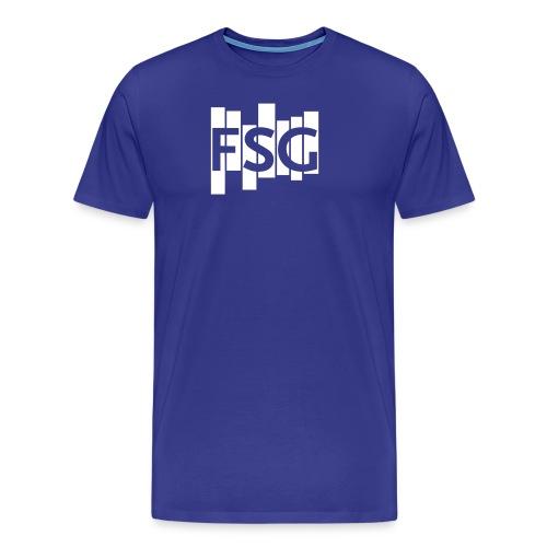 FSG Logo weiß - Männer Premium T-Shirt