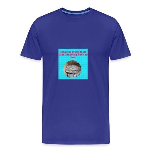 The sleeping dragon - Men's Premium T-Shirt