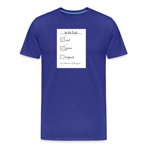 gamer life - Mannen Premium T-shirt