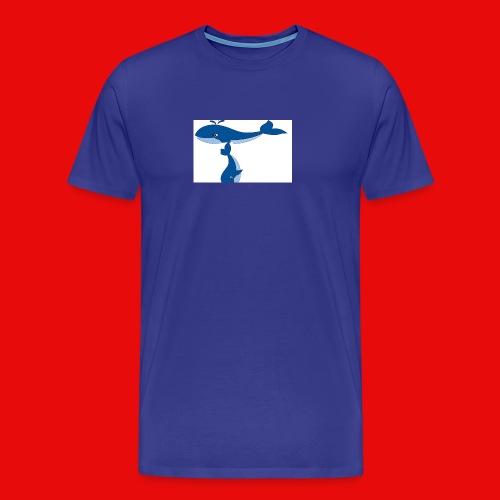 whale t - Men's Premium T-Shirt