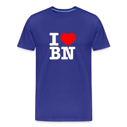 ilovebn white - Männer Premium T-Shirt