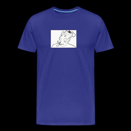 KJ Hoodie Outline NEW - Männer Premium T-Shirt
